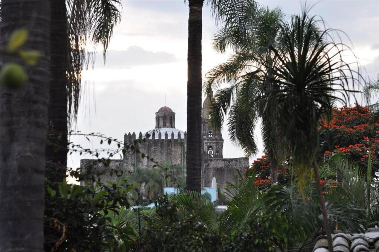A few steps from   emblematic Palace of Hernán Cortés. Las Casas B + B Boutique Hotel, Spa & Restaurant in Cuernavaca.