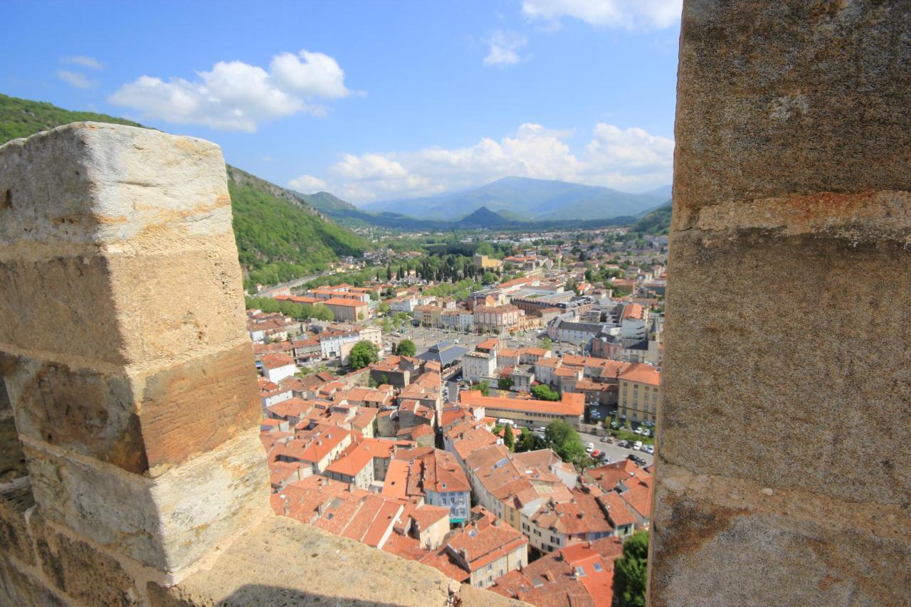 Vue depuis Château de Foix 15min
