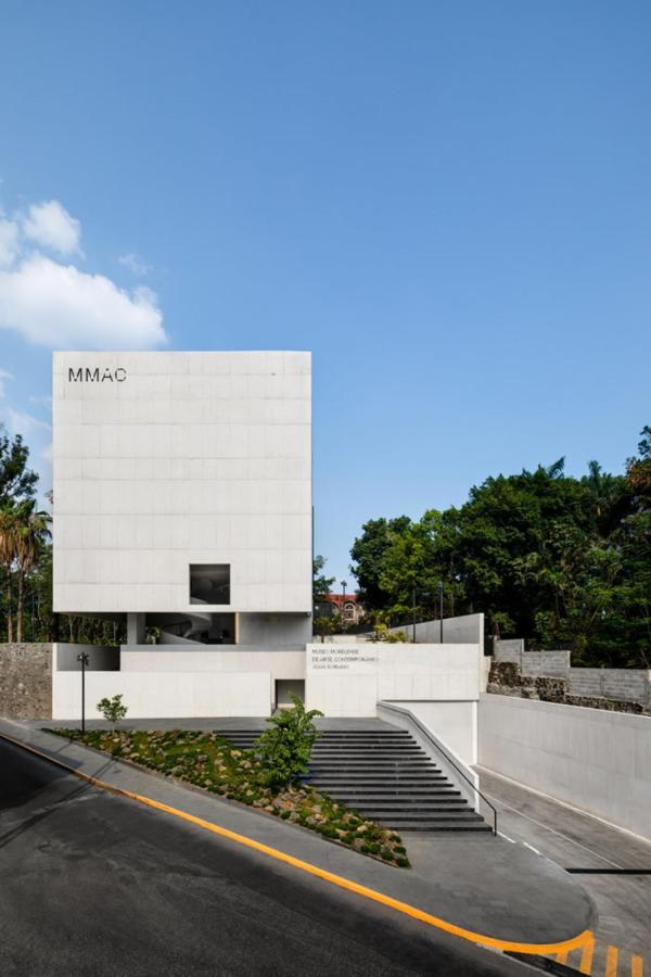 Museo Morelense De Arte Contemporaneo winner of gold at the CMDX 2019 Architecture Biennial. Just steps from Las Casas B + B Hotel