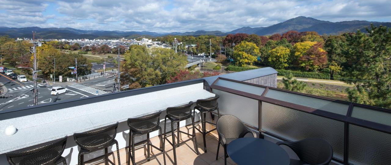 從屋頂露台上看