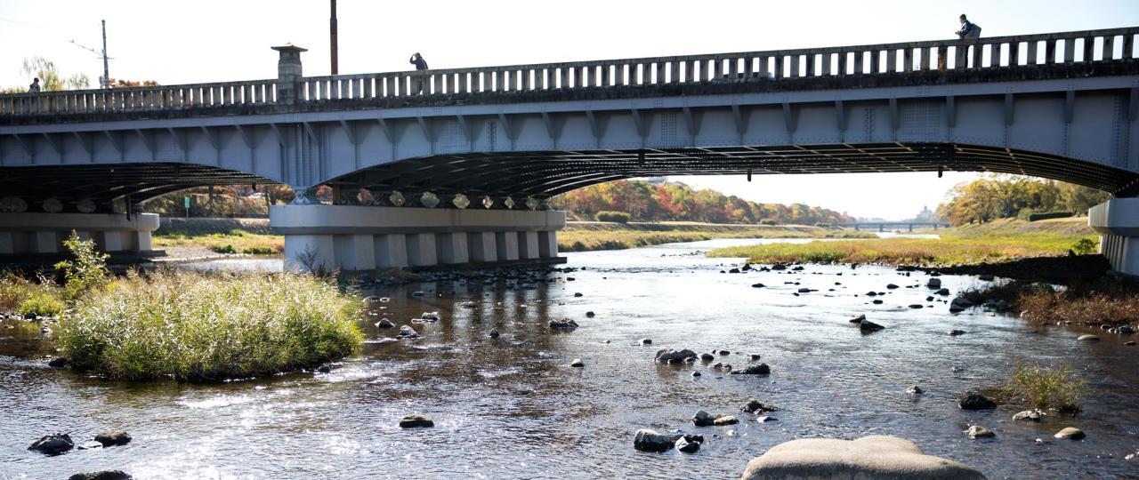 鴨川 Kamogawa River