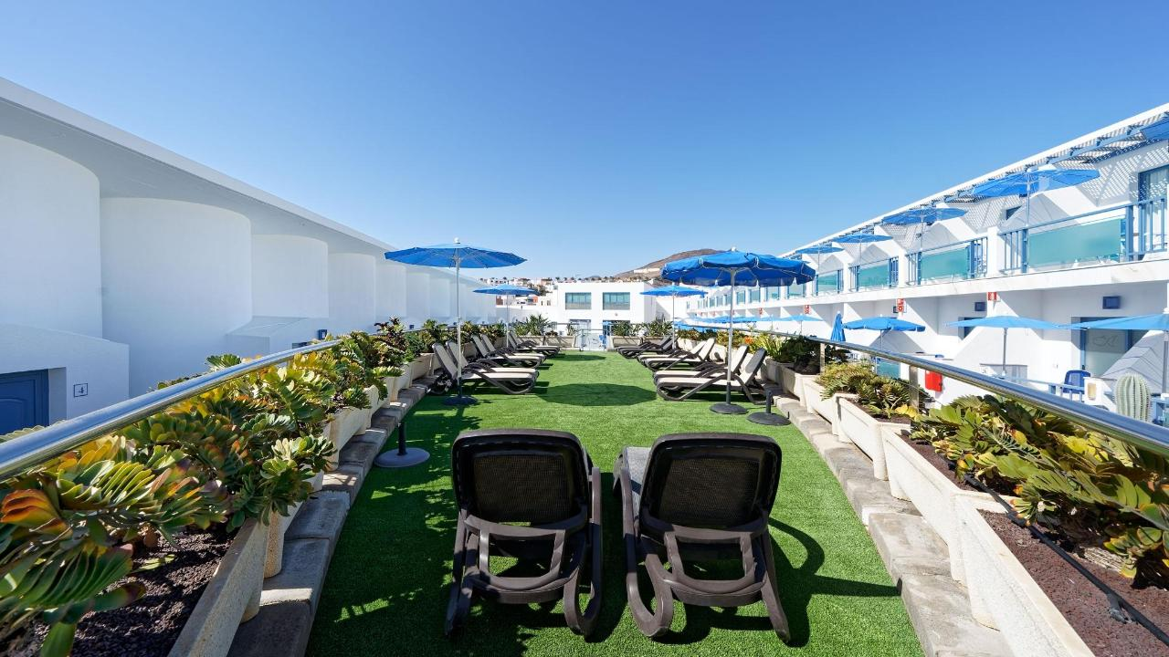 sun terrace deck Igramar Morro Jable